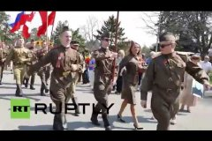 Canada: Toronto's Russian community and WWII veterans celebrate V-Day